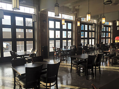 Transforming the historic fire hall into the Prairie Firehouse involved months of construction and menu planning.