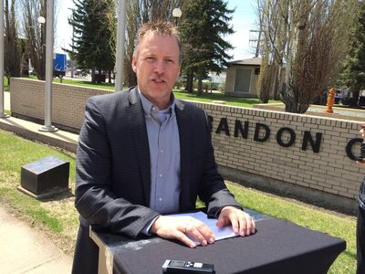 Len Isleifson announced Thursday afternoon that he would seek the PC nomination in Brandon East.