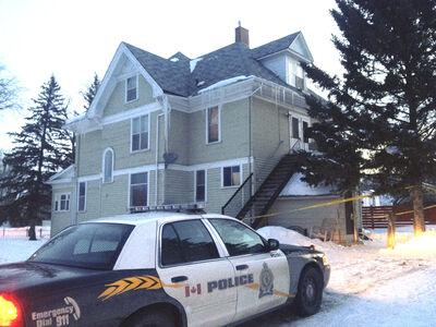 A man was found dead in this Brandon home early Monday morning, the victim of an apparent stabbing.