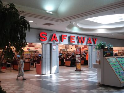 The Safeway store inside Shoppers Mall Brandon.