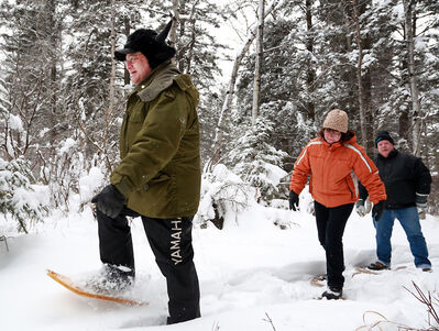 The snow might be a little wet, but it'll be a balmy day today for outdoor activities.