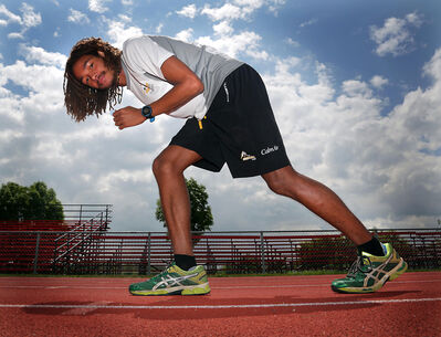 While DeLohnni Nicol-Samuel was disappointed by his time in the 1,500 metres at the Commonwealth Games, the Brandonite said the things he learned will help him improve.