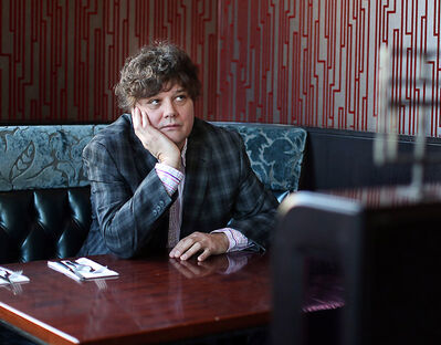 """Singer-songwriter Ron Sexsmith poses for a photo as he promotes his new album """"Forever Endeavor"""" in this 2013 photo. He'll be headlining the Brandon folk festival in July."""