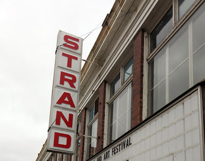 The estimated cost of the Strand Theatre renovation as of last fall was $3 million.