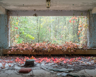 "One of David McMillan's photographs of Pripyat, Ukraine — site of the Chernobyl disaster — is part of his ""Exclusion Zone"" exhibition, which is also opening Thursday at the AGSM, as is Angie Currie Nor Addin's ""After Loss"" installation focusing on the tragic losses that followed the nuclear meltdown."