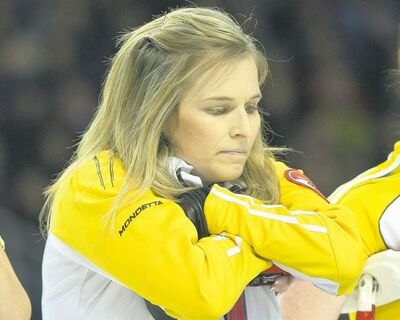 ryan remiorz/ the canadian pressThe look on Jennifer Jones�s face Sunday evening says it all: The team that made history in the round robin couldn�t make it happen in the playoffs.