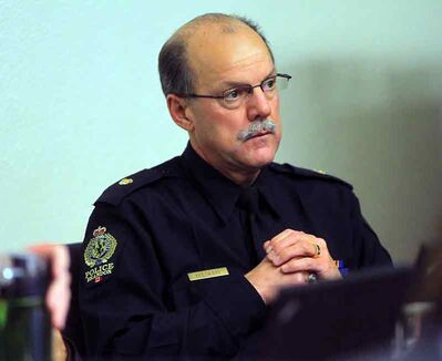 Ian Grant is the new chief of the Brandon Police Service.