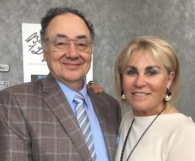 Barry and Honey Sherman are shown in a handout photo from the United Jewish Appeal. THE CANADIAN PRESS/HO-United Jewish Appeal