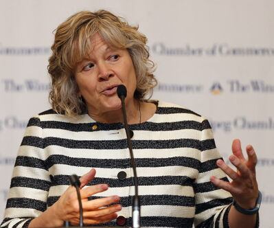 Retired CEO Marilyn McLaren's contract with MPI is for 21.75 hours of work per month at a price tag of $3,900.