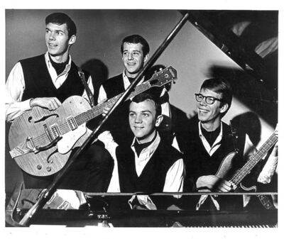 Bill Edmondson (top) briefly played with Neil Young & The Squires, but never got to taste fame.