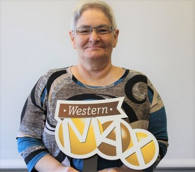 Brandon's own Rosemarie Dalton is Manitoba's first lottery millionaire of 2018. (submitted)