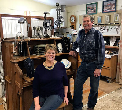 "Lynne Ranger and her husband Dennis have started up a business in Neepawa called ""Bead or (k)Not Studio."""
