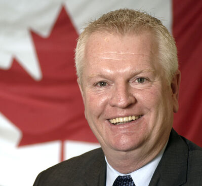 Brandon-Souris Conservative MP Merv Tweed. (File)