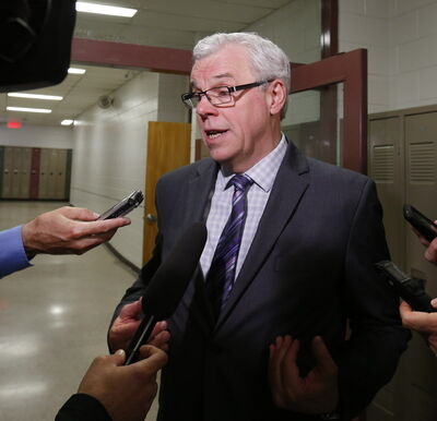 Premier Greg Selinger interviewed Wednesday.