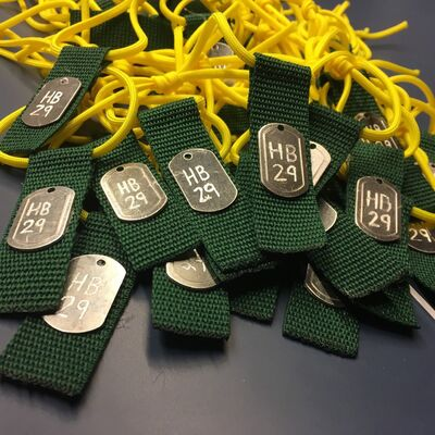 Former Brandonite Kurt Jory and his friends have made hundreds of zip tags in support of the Humboldt Broncos hockey team. Jory is accepting donations of $5 or more for a zip tag and has received orders from across the country and the U.S.