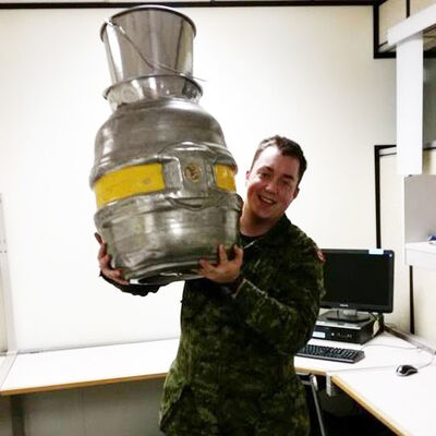 Pte. Kirby Tott, 25, died during training at CFB Shilo Saturday afternoon. According to military officials, Tott was learning how to build a trench when he suddenly collapsed. An autopsy is expected to be conducted this week. (Facebook photo)