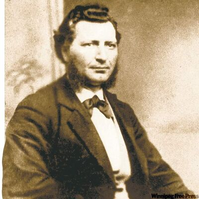 FILE--This is a file photo of Louis Riel circa 1876.