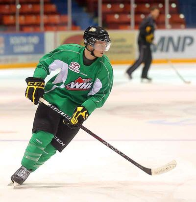 Brandon forward Nick Buonassis is anxious for another shot at the Lethbridge Hurricanes after the Wheat Kings fell 6-1 to his former team in their first meeting of the season last month in Alberta.