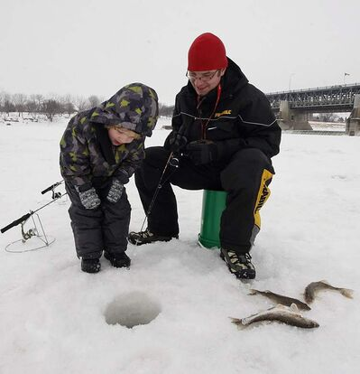 Manitobans will be able to fish without a licence throughout the long weekend.