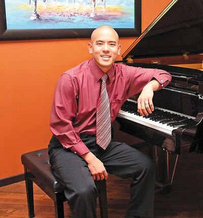 Capt. Victor Pak, currently posted at CFB Shilo, is competing for the title of Piano Hero, a nationwide contest through CBC Music and ICI Musique. Online voting at piano2016.strutta.com ends Thursday at 2 p.m.