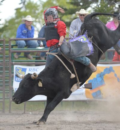 Riley Park will be competing in bull riding at the National Junior High Finals Rodeo in Gallup, New Mexico, next week.