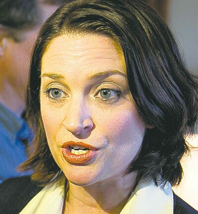 Health Minister Erin Selby: 'concerning'