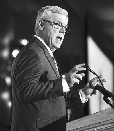 Premier Greg Selinger blames the recession and cost pressures for the deficit.