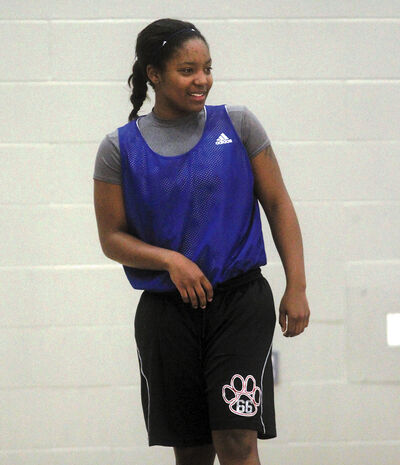 Coach Novell Thomas expects big things from new imports Mikaela Stanton (pictured) and Alyssa Montgomery.