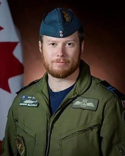Capt. Brenden Ian MacDonald is shown in a Department of National Defence handout photo. The Department of National Defence says it's recovered and identified the partial remains of a second victim of last month's military helicopter crash in the Mediterranean Sea. A government release says the Office of the Chief Coroner for Ontario identified the remains of Capt. Brenden Ian MacDonald of New Glasgow, N.S., on Friday. THE CANADIAN PRESS/HO-Department of National Defence MANDATORY CREDIT