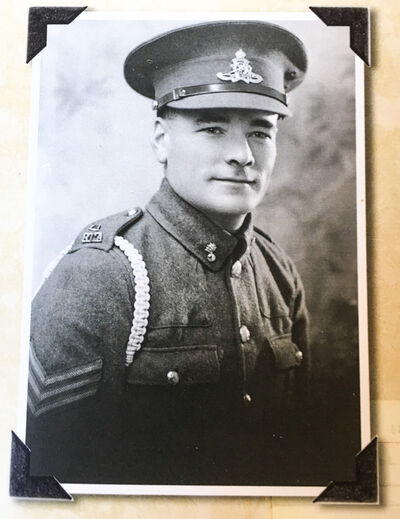 """A photo of Royal Canadian Artillery sergeant Ernest """"Ernie"""" Curtis. (Submitted)"""