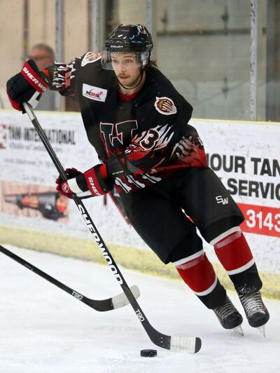 Defenceman Derek Wood is one of 11 players born in 1997 who are eligible to return to the Waywayseecappo Wolverines next season. The team will have a new head coach and general manager when it hits the ice again in the fall.