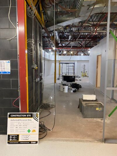 A photo of Assiniboine Community College's new Centre for Adult Learning, which will be up and running by the fall according to school officials.