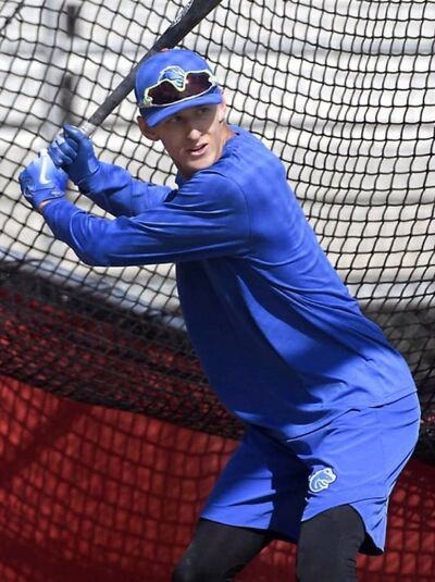 Jayce Bailey, an outfielder with Boise State University in Idaho, will be coming to Brandon this summer to play for the Whiskey Jacks.