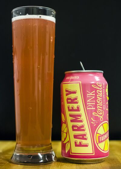 First Draught columnist Cody Lobreau says Farmery's Pink Lemonale, as a beer, is way too sweet, but as a cooler, it will sell well, like lemonade on a hot summer day.