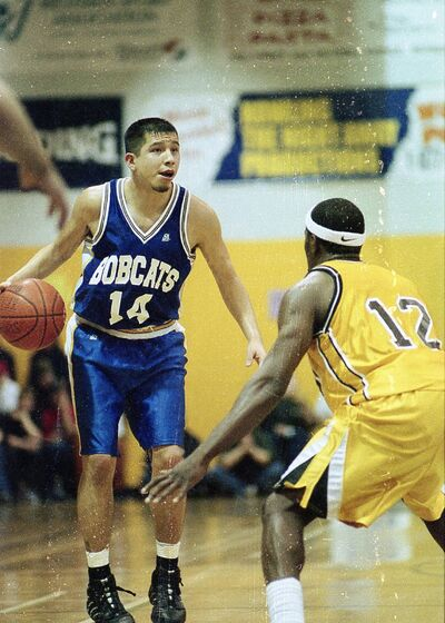 Charlton Weasel Head was named a national tournament all-star in 2001, during his fifth and final year of eligibility. (Brandon Sun file)