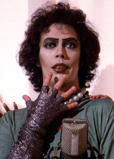 """Tim Curry stars in """"The Rocky Horror Picture Show,"""" which will be shown at the Evans Theatre on the Brandon University campus tonight at 10 p.m."""