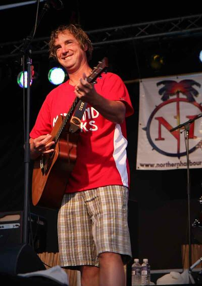Brian Neale, who has performed Jimmy Buffett's hits to fans around the world and once even shared a stage with Buffett, is one of the performers taking part in this weekend's Margarita-Ville Beach Party at The Dock on Princess.