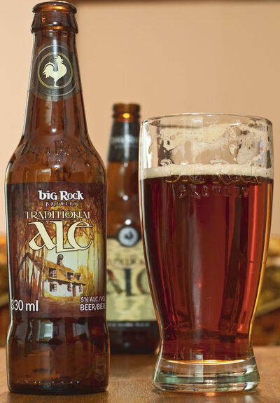 Big Rock Traditional Ale -- Pint rating: 3 out of 5