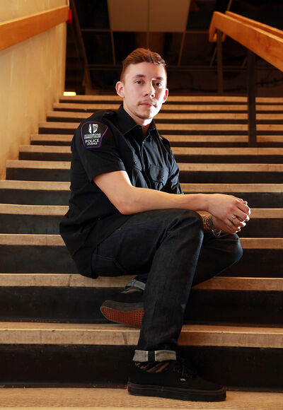 Josh Murdock is headed to Assiniboine Community College's integrated police studies program.