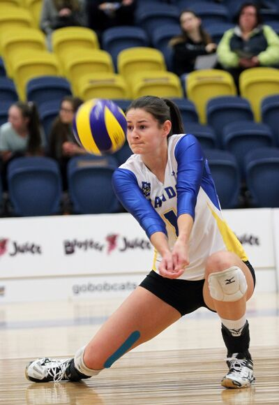 Former Brandon University Bobcat right side Victoria Dakin is in Slovenia to begin her professional volleyball career.