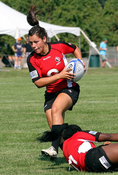 Brandonite Amanda Thornborough is excited about Canada's upcoming three-game exhibition series versus New Zealand and Australia in preparation for August's IRB Women's World Cup in France.
