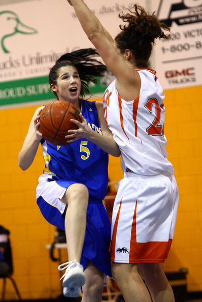 Sarah Lopes is the lone fifth-year veteran on the Brandon University Bobcats this season.