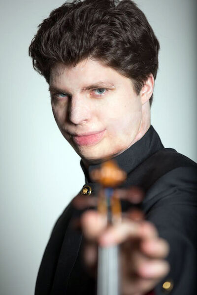 Master violinist Augustin Hadelich joins the Winnipeg Symphony Orchestra for Sunday's concert at the Western Manitoba Centennial Auditorium.