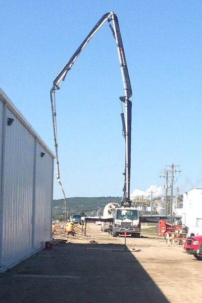 Construction of a $1.5 million expansion has begun at the Morris Industries plant in Minnedosa.
