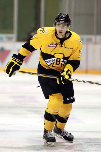 Wheat Kings defenceman Eric Roy has been picked to play in the Top Prospects Game.