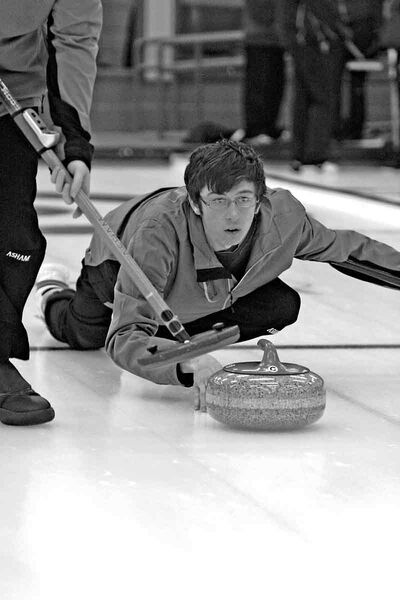 Brandon's Neil Cowie hopes to secure one of the final two berths at the provincial junior curling championship at the Christmas bonspiel, which starts today in Winnipeg. Cowie skips one of 26 teams in the junior men's field.