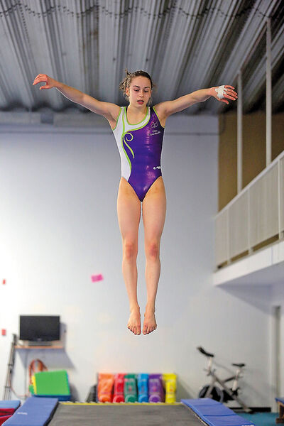 Local gymnast Isabela Onyshko will compete later this month in the Commonwealth Games in Scotland.