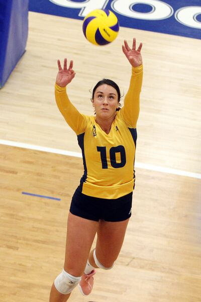 Brandonite Mary Thomson will begin her professional volleyball career with SG Prinz Brunnenbau in Perg, Austria.
