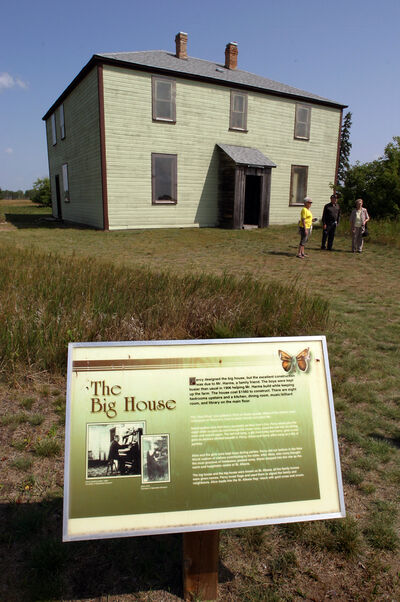The Big House at the Criddle/Vane Homestead Provincial Park is pictured in 2009.