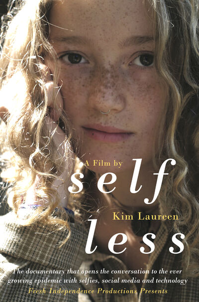 "Kuki Warburton is featured on the official poster for the documentary ""Selfless."" (Image by Miranda Warburton)"